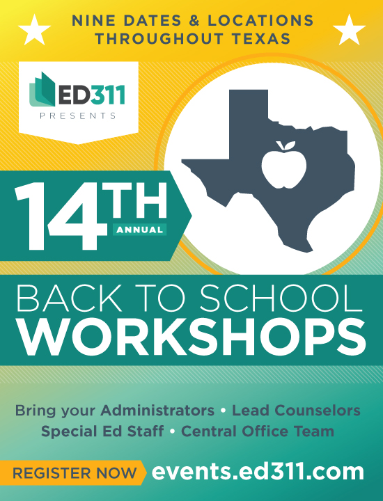 2019 Back to School Series | ED311 Events