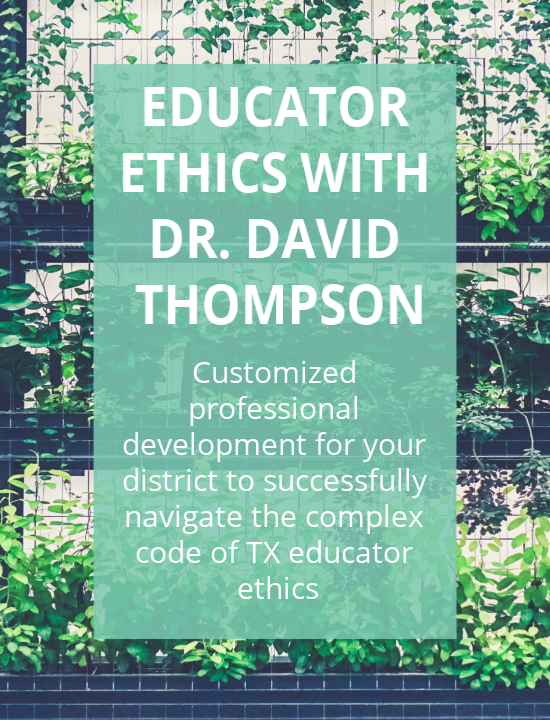 Educator Ethics In-District Trainings