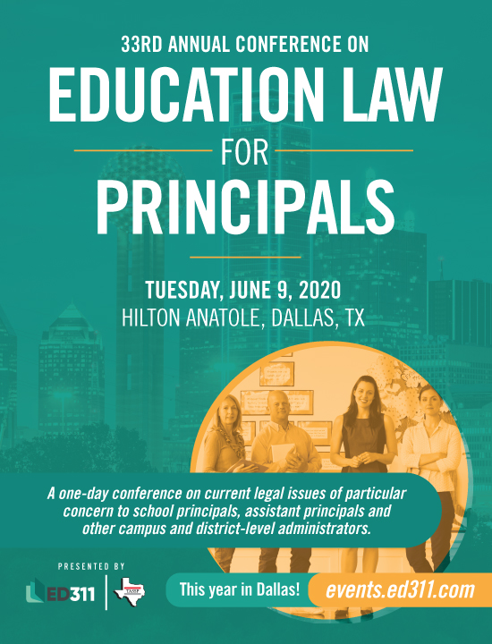 2020 Education Law for Principals Conference